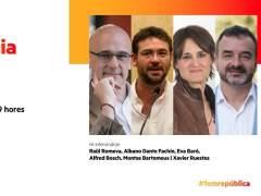 Fachin participará en actos de campaña de ERC y la CUP