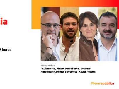 Fachin participará en actos de campaña de ERC y la CUP.