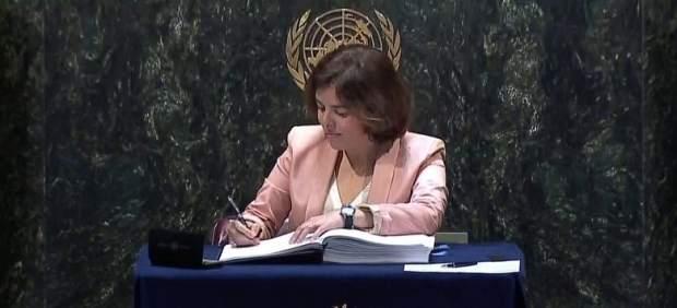 España ratificará este martes en París su compromiso contra el cambio climático