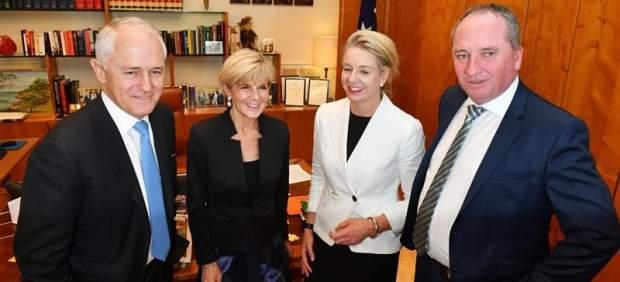 Líderes del Partido Nacioal de Australia