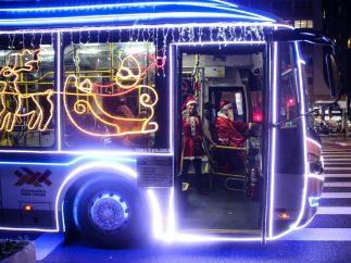 Autobús navideño