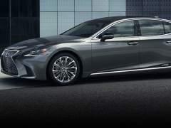 Lexus convierte al LS 500h en la nueva generación de los coches de lujo