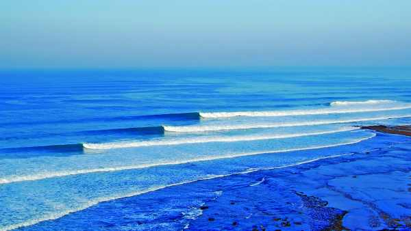 Ribeira d'Ilhas es la playa con más fama entre los surfistas.