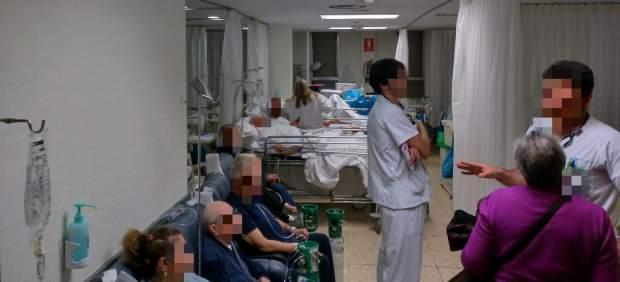 """Tarde De Caos En Las Urgencias Del Hospital La Paz: """"Parece Que Estamos En Guerra"""""""