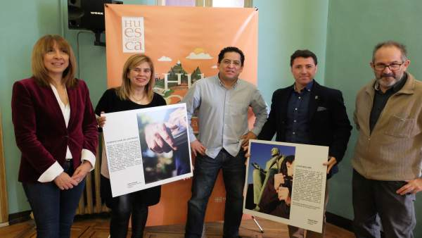 Presentación de exposición fotográfica sobre figuras de la provincia de Huesca
