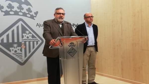 Josep Lluis Bauzá Y Pedro Ribas