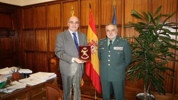 General jefe de la Guardia Civil en Aragón y subdelegado del Gobierno en Teruel