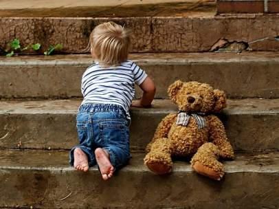 Imagen de archivo de un bebé.