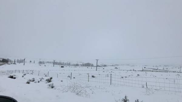 Nieve, nevada, frío, temporal