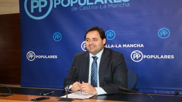 Gpp Clm (Cortes De Voz Y Fotografía) Francisco Núñez En Rueda De Prensa, 121217