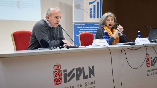 Dos de los ponentes en la jornada del ISPLN