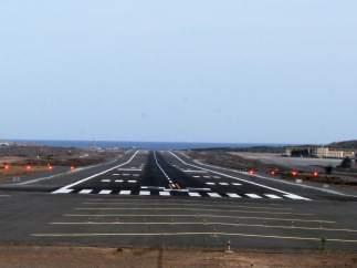 Pista del Aeropuerto de Gran Canaria