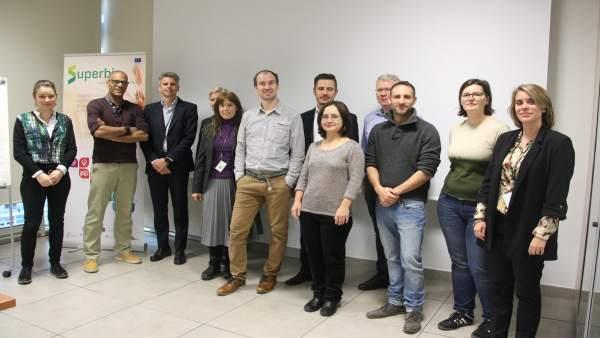 Reunión del proyecto europeo SuperBio.