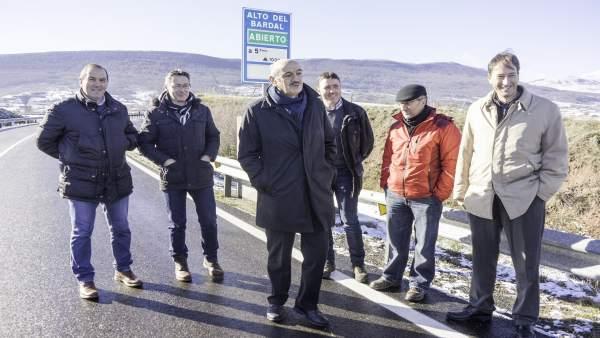 Inauguración de la carretera Matamorosa-Mataporquera