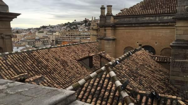 Cubierta de la Catedral de Granada