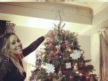 Los famosos presumen de árbol de Navidad