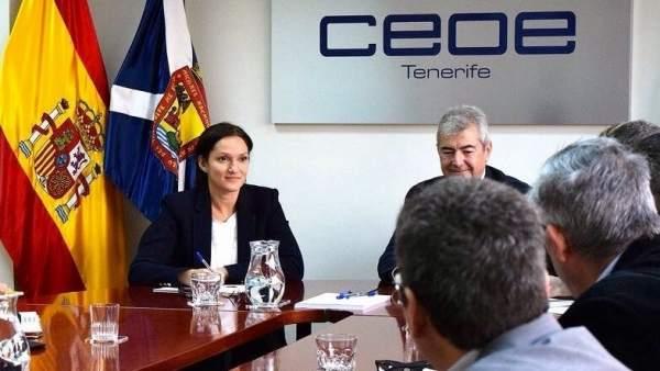 Reunión con CEOE-Tenerife