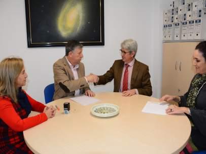 Acuerdo entre el Ayuntamiento de Palos de la Frontera y la Fundación Cepsa.