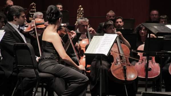 Una actuación de la Orquesta de Córdoba