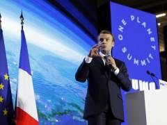 """Macron: """"Estamos perdiendo la lucha contra el cambio climático"""""""
