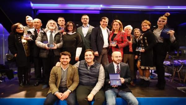 Entrega de los Premios 'Ruta Social' del PP de Sevilla