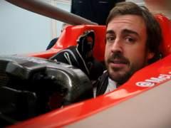 Alonso prueba su asiento para el McLaren-Renault de 2018