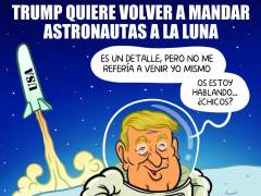 Trump en la Luna