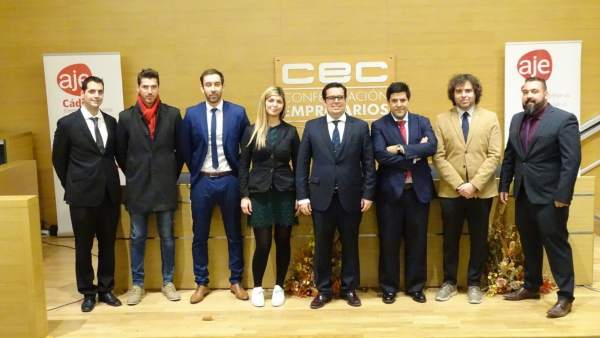 Nuevo comité de AJE Cádiz