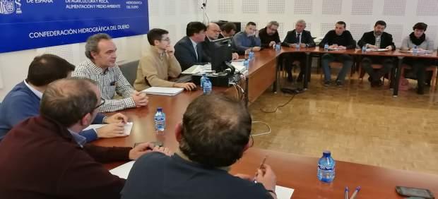 Reunión de la CHD con representantes y técnicos de ayuntamientos