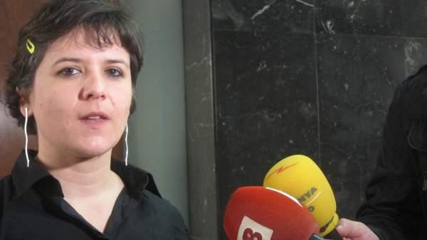 Gala Pin, regidora de Ciutat Vella.