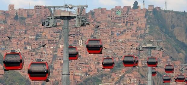 Teleférico en Bolivia