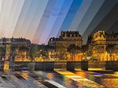 Fotografías 'rebanadas de tiempo' de lugares concretos en diferentes momentos del día