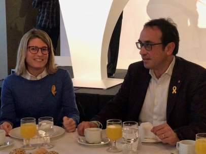 Josep Rull y Elsa Artadi, JuntsxCat