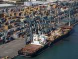Terminal contenedores Puerto de Barcelona