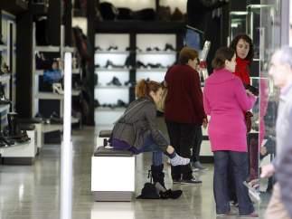 zapateria, zapato,pie , mujer,