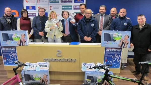 Presentación de la XXII Carrera San Silvestre de Cáceres