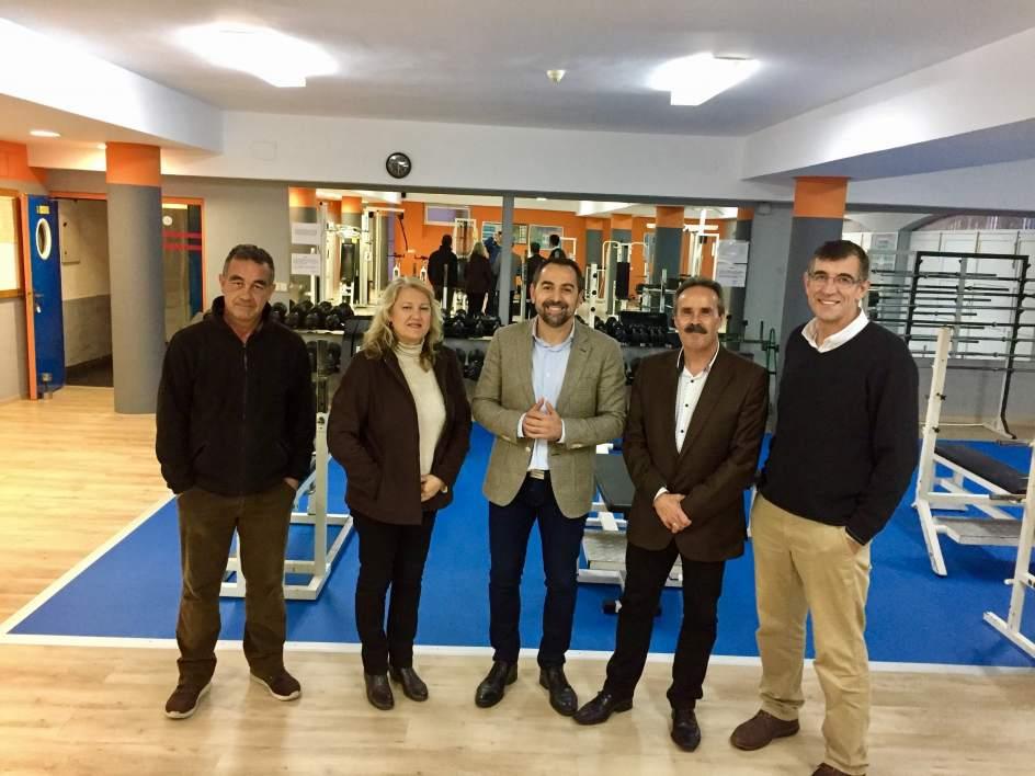 Junta finaliza la renovaci n del gimnasio del centro de for Gimnasio del centro