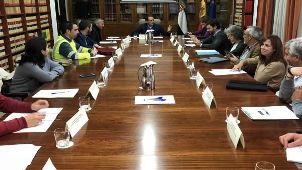 Comisión Provincial de Seguridad Vial de Cáceres