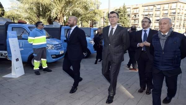 Nueva flota de vehículos en el Ayuntamiento de Murcia