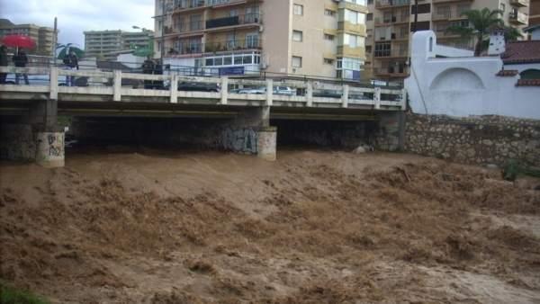 Inundaciones, agua, río