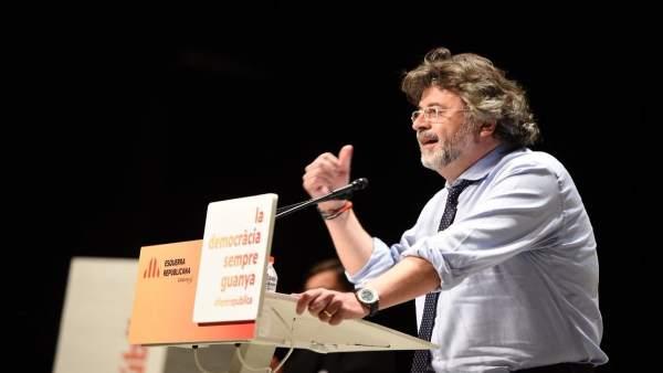 El candidato número 15 de ERC Toni Castellà