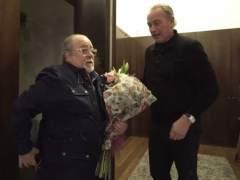 Bertín y Arévalo hacen las paces en 'Mi casa es la tuya'