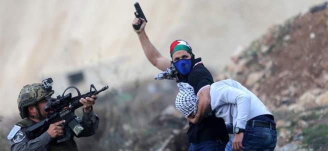 Protesta palestina en Cisjordania