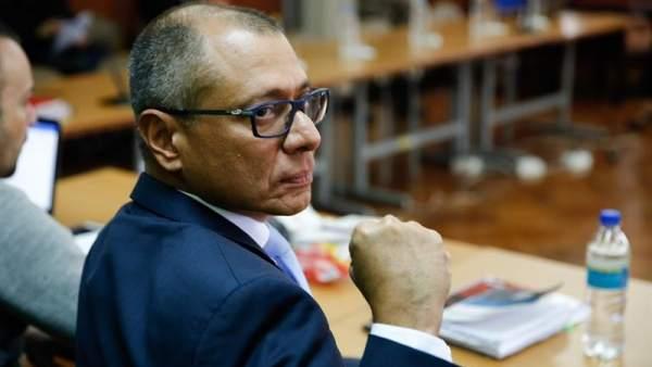 6 años de cárcel para el vicepresidente de Ecuador