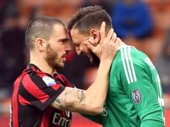 Los tifosi atacan a Donnarumma, que rompe a llorar en el vestuario