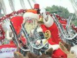 El Papá Noel que fue apedreado