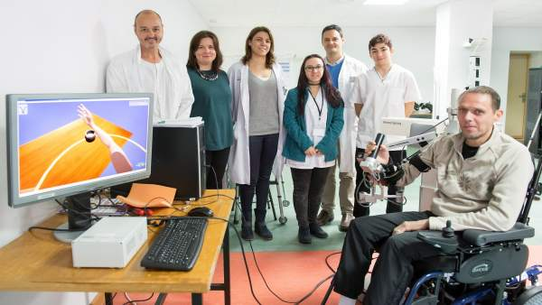 Hospital de Parapléjicos Armeo Spring realidad virtual