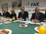 Burgos.- Reunión Confederación de Asociaciones Empresariales de Burgos (FAE)