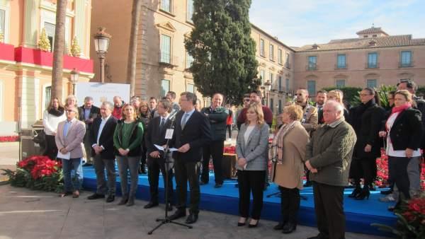 Presentación de la programación de Navidad en Murcia