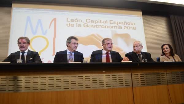 León: Silvá informa de la reunión sobre la Capital Gastronómica